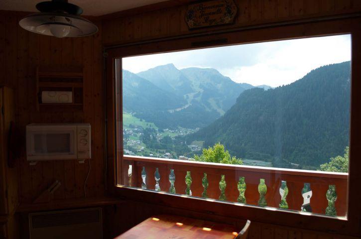 Vacaciones en montaña Apartamento 2 piezas cabina para 4 personas (6) - Résidence l'Alexandra - Châtel - Balcón