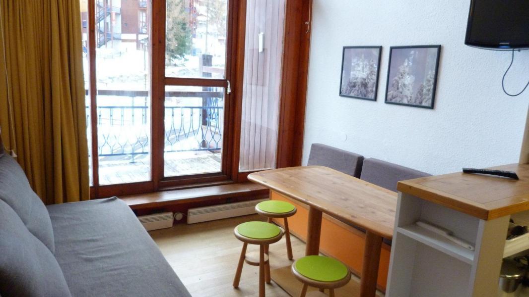 Holiday in mountain resort Studio sleeping corner 5 people (412) - Résidence l'Alliet - Les Arcs - Accommodation