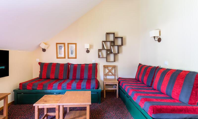 Vacances en montagne Appartement 3 pièces 8 personnes (Sélection 55m²) - Résidence l'Alpaga - Maeva Home - Serre Chevalier - Séjour