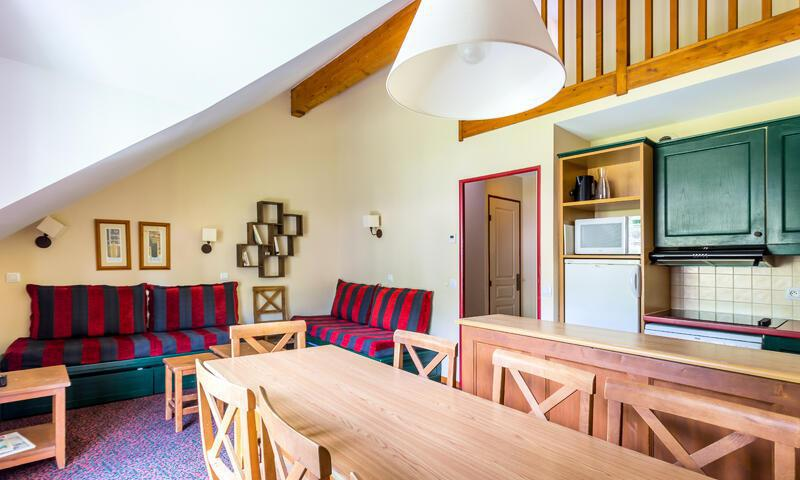 Vacances en montagne Appartement 3 pièces 8 personnes (Sélection 55m²) - Résidence l'Alpaga - Maeva Home - Serre Chevalier - Extérieur été