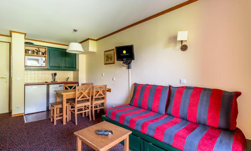 Vacances en montagne Appartement 2 pièces 5 personnes (Budget 35m²) - Résidence l'Alpaga - Maeva Home - Serre Chevalier - Extérieur été