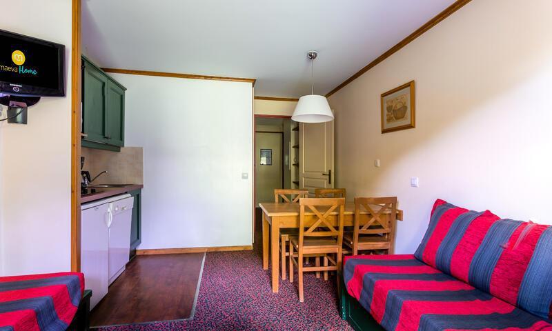 Vacances en montagne Studio 4 personnes (Budget 22m²) - Résidence l'Alpaga - Maeva Home - Serre Chevalier - Extérieur été