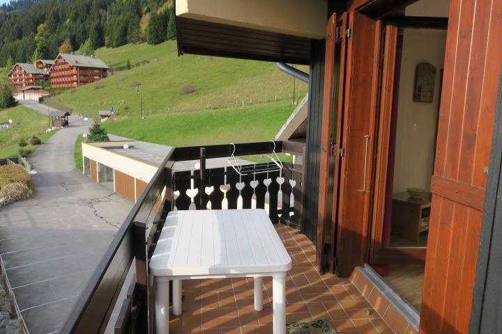 Vacances en montagne Appartement 2 pièces mezzanine 5 personnes (D16) - Résidence l'Alpage - Châtel - Extérieur été