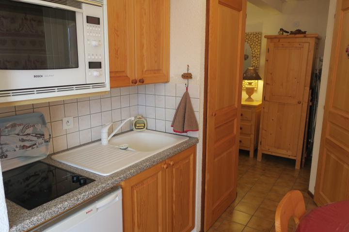 Vacances en montagne Appartement 2 pièces mezzanine 5 personnes (D16) - Résidence l'Alpage - Châtel - Cuisine
