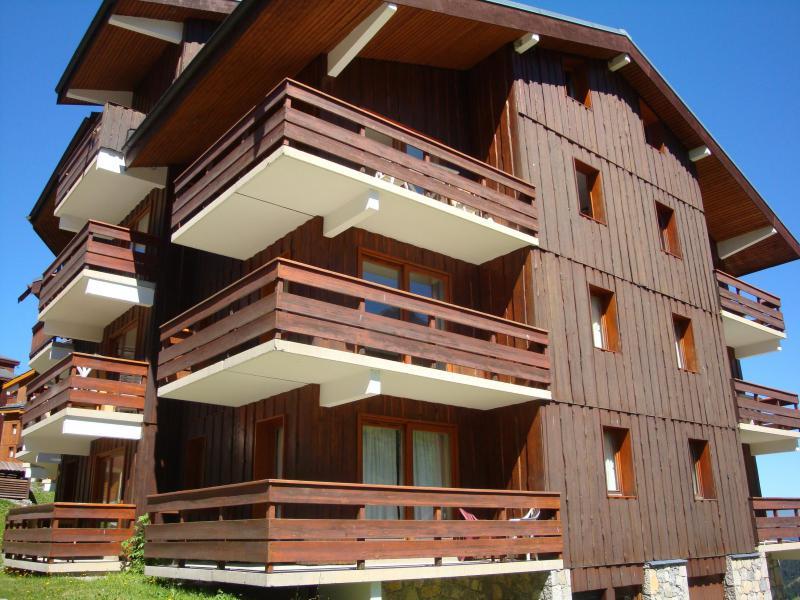Location au ski Appartement duplex 3 pièces 6 personnes (E01) - Résidence l'Alpinéa - Méribel-Mottaret - Extérieur été