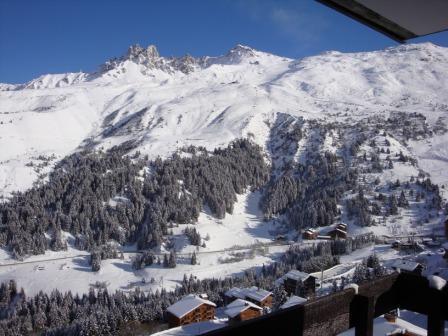 Vacances en montagne Studio 4 personnes (07) - Résidence l'Arc en Ciel - Méribel-Mottaret