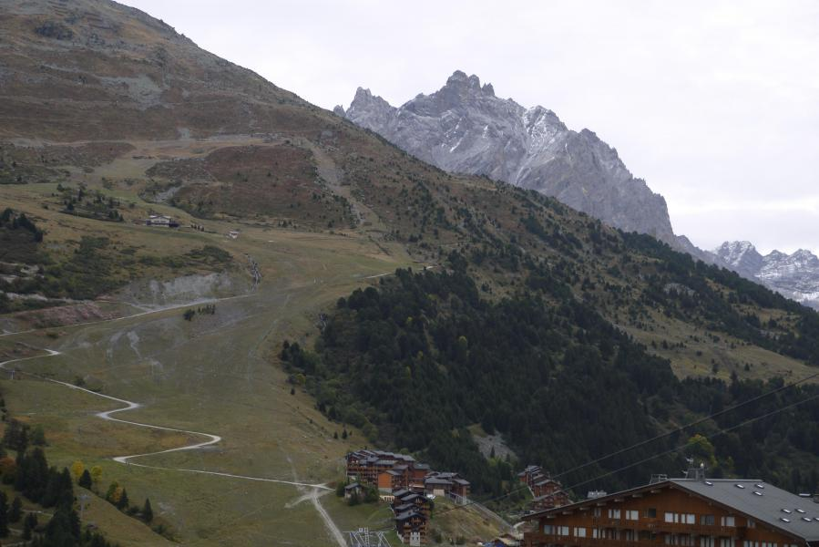 Location au ski Studio 4 personnes (09) - Résidence l'Arc en Ciel - Méribel-Mottaret - Extérieur été