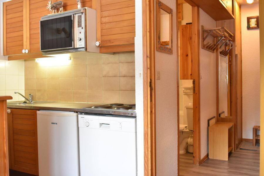 Holiday in mountain resort Studio 4 people (9 BIS) - Résidence l'Arolaz I - Méribel