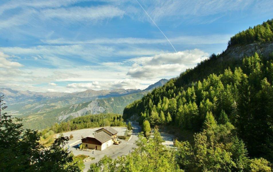 Location au ski Studio coin montagne 4 personnes (105) - Résidence l'Arribau - Pra Loup - Extérieur été
