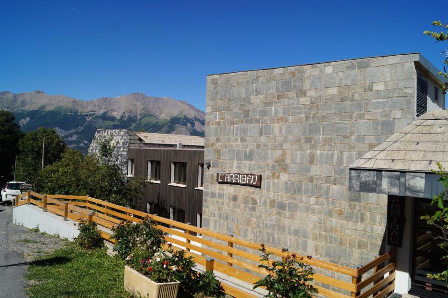 Location au ski Résidence l'Arribau - Pra Loup - Extérieur été