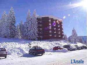 Vacances en montagne Résidence l'Arselle - Chamrousse - Plan