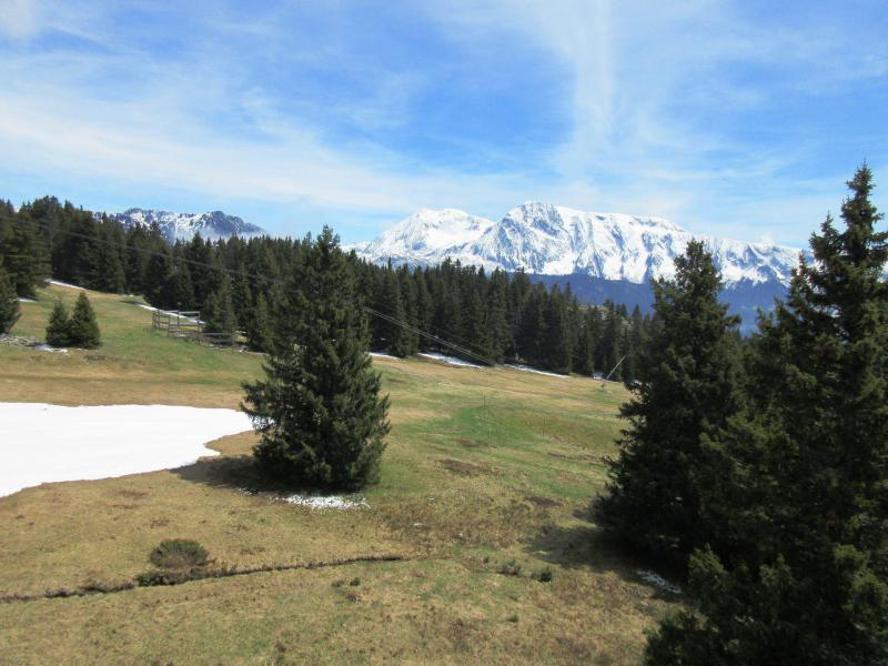 Vacances en montagne Studio 4 personnes (507) - Résidence l'Arselle - Chamrousse - Extérieur été