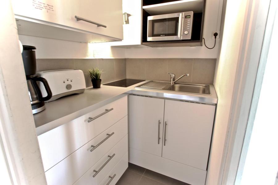 Vacances en montagne Appartement 2 pièces 4 personnes (406) - Résidence l'Arselle - Chamrousse - Kitchenette