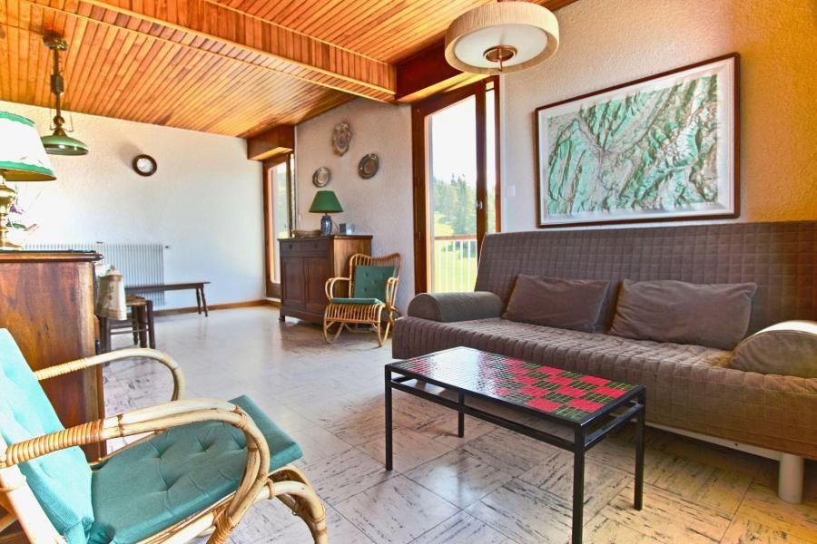 Vacances en montagne Appartement 2 pièces 4 personnes (406) - Résidence l'Arselle - Chamrousse - Séjour