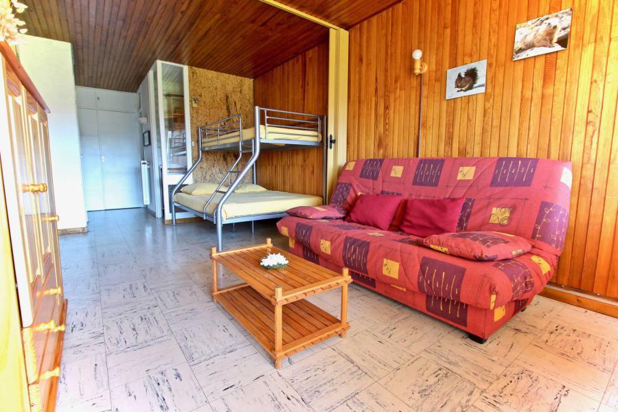 Vacances en montagne Studio 4 personnes (507) - Résidence l'Arselle - Chamrousse - Canapé-lit