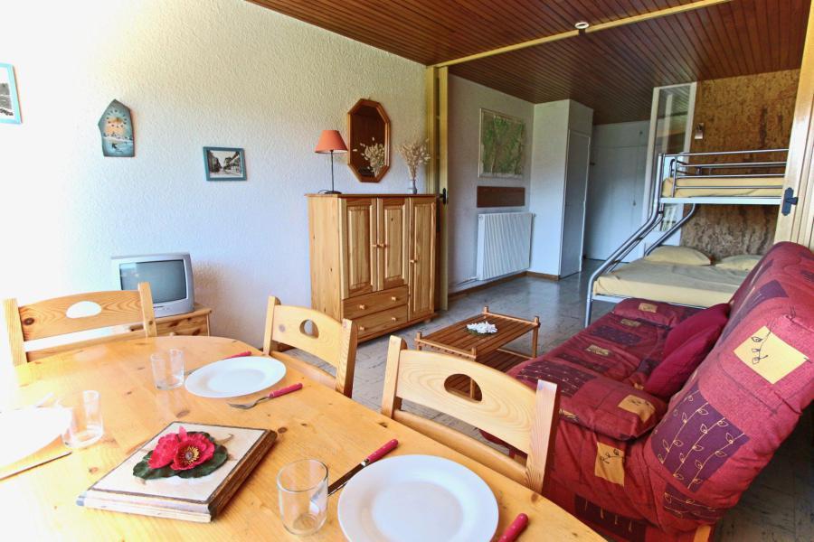Vacances en montagne Studio 4 personnes (507) - Résidence l'Arselle - Chamrousse - Table