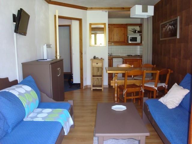 Vacances en montagne Appartement 2 pièces 4 personnes (001) - Résidence l'Athamante - Valmorel - Séjour