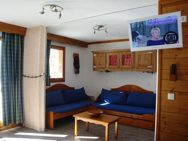 Vacances en montagne Studio 5 personnes (002) - Résidence l'Athamante - Valmorel - Séjour