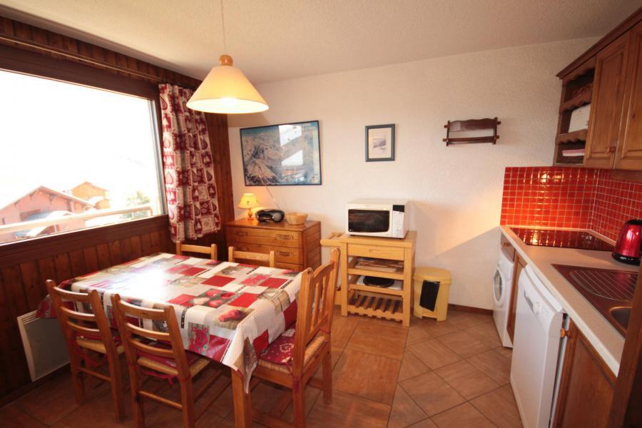 Vacaciones en montaña Apartamento 2 piezas para 5 personas (016) - Résidence l'Ecrin - Les Saisies - Mesa