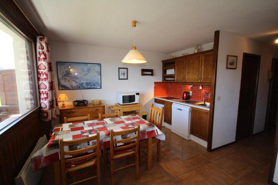 Vacaciones en montaña Apartamento 2 piezas para 5 personas (016) - Résidence l'Ecrin - Les Saisies - Mesa baja