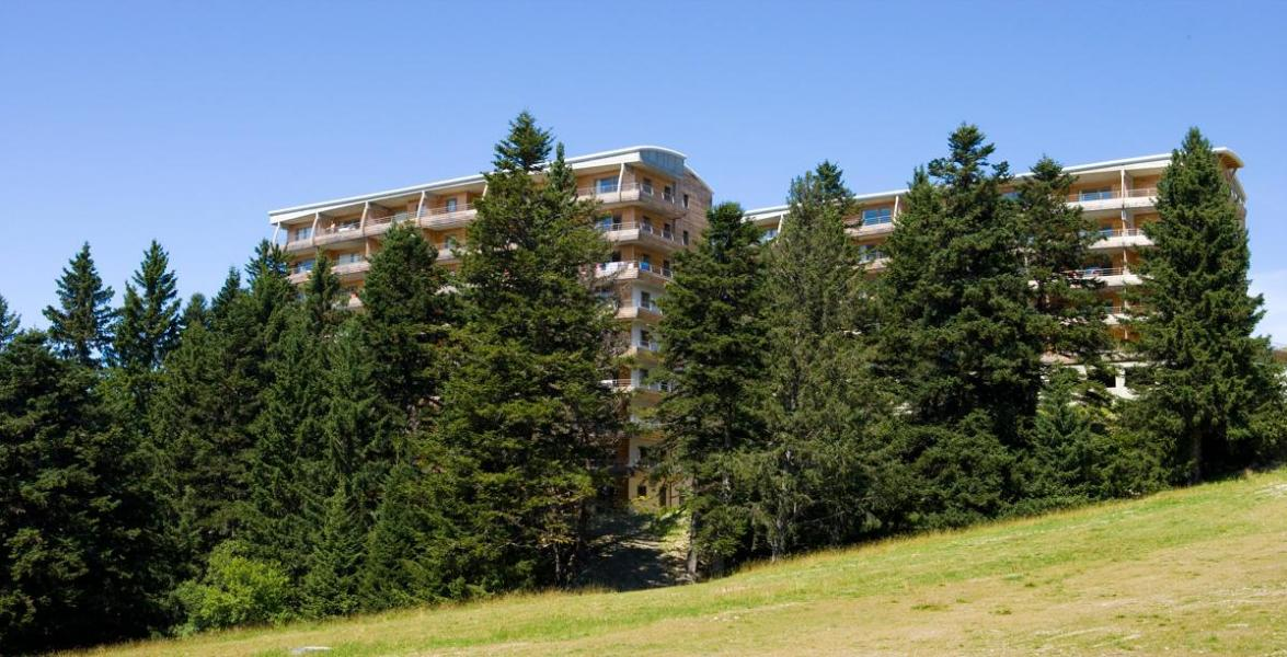 Location au ski Résidence l'Ecrin des Neiges - Chamrousse - Extérieur été