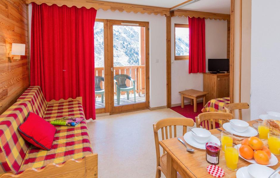 Vacances en montagne Résidence l'Ecrin des Neiges - Valmeinier - Coin repas