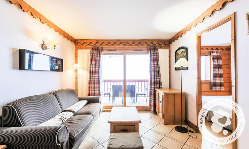 Аренда на лыжном курорте Апартаменты 4 комнат 8 чел. (Sélection 59m²-1) - Résidence l'Ecrin des Neiges - Maeva Home - Tignes - Салон