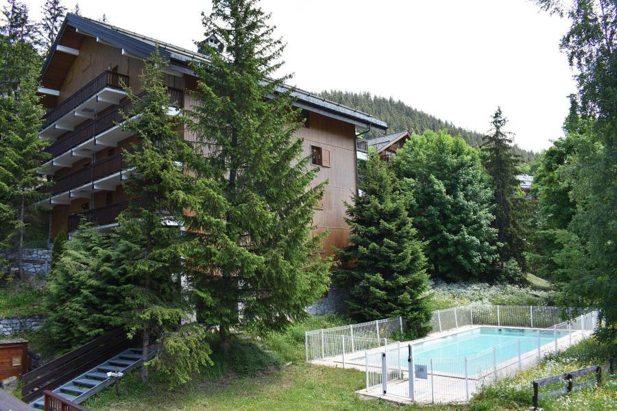 Vacances en montagne Appartement 3 pièces 5 personnes (17) - Résidence l'Edelweiss - Méribel - Extérieur été
