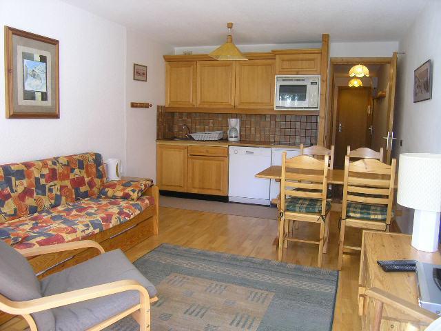 Vacances en montagne Appartement 3 pièces 5 personnes (09) - Résidence l'Edelweiss - Méribel - Cuisine