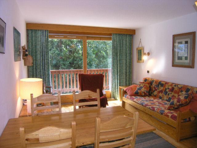 Vacances en montagne Appartement 3 pièces 5 personnes (09) - Résidence l'Edelweiss - Méribel - Séjour