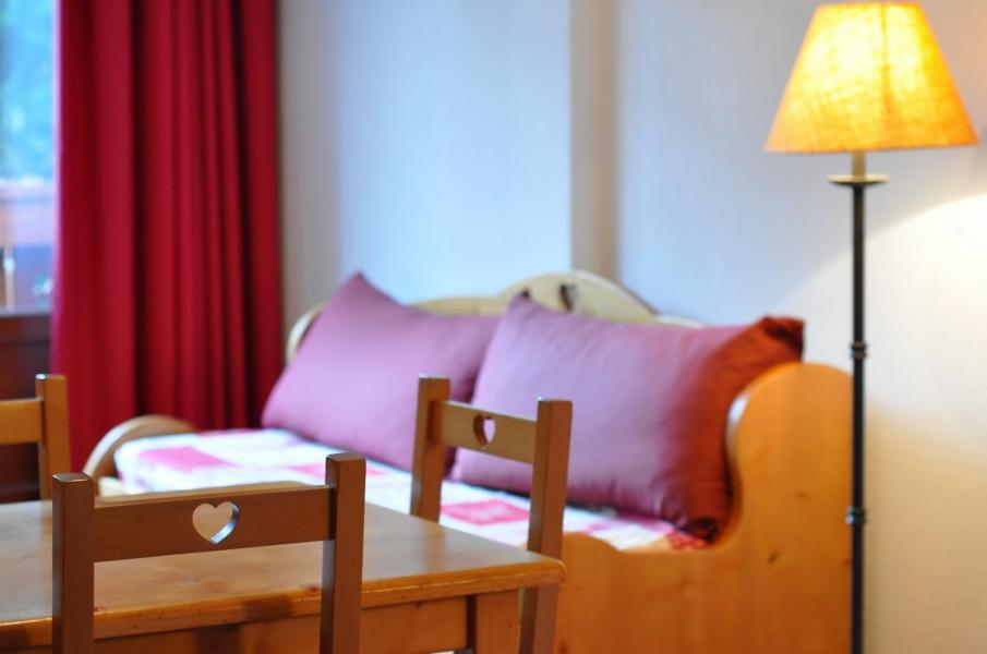 Urlaub in den Bergen Résidence l'Edelweiss - Les 2 Alpes - Sitzbank