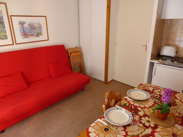 Holiday in mountain resort Studio sleeping corner 4 people (J685) - Résidence l'Enclave - Les Contamines-Montjoie