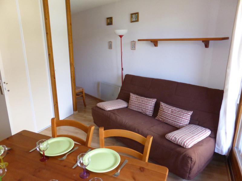 Holiday in mountain resort Studio sleeping corner 5 people (J731) - Résidence l'Enclave - Les Contamines-Montjoie