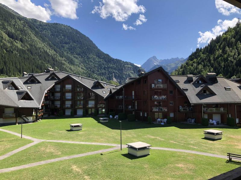 Urlaub in den Bergen Studio Schlafnische 4 Personen (I638) - Résidence l'Enclave - Les Contamines-Montjoie