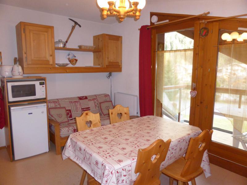 Urlaub in den Bergen Studio Kabine für 4 Personen (J735) - Résidence l'Enclave - Les Contamines-Montjoie