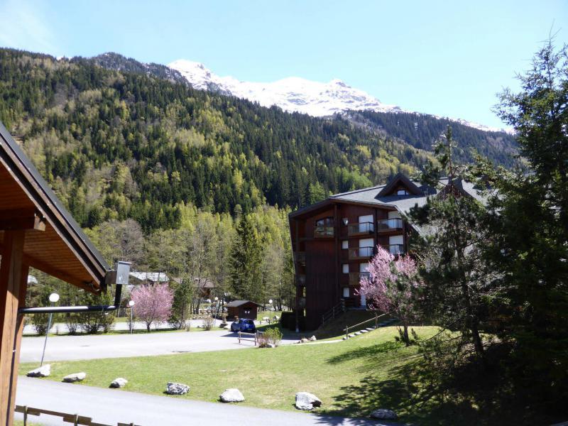 Аренда на лыжном курорте Квартира студия со спальней для 4 чел. (J685) - Résidence l'Enclave - Les Contamines-Montjoie - летом под открытым небом