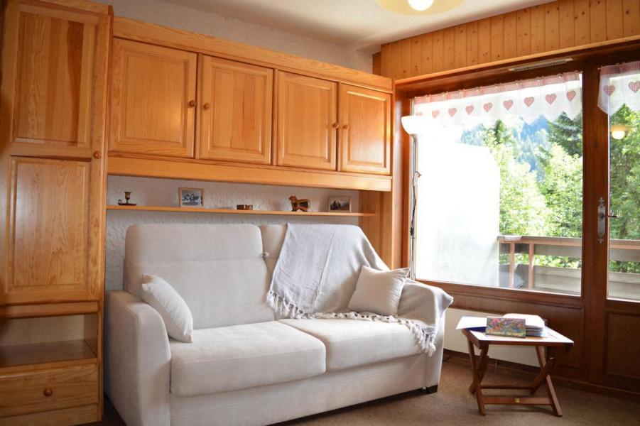 Holiday in mountain resort Studio sleeping corner 4 people (002) - Résidence l'Eparvi - Le Grand Bornand