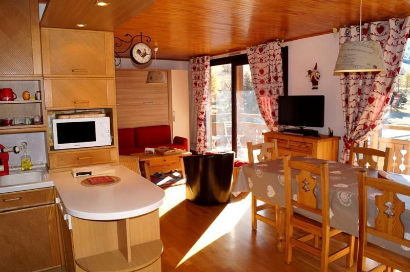 Holiday in mountain resort 3 room apartment 6 people (341) - Résidence l'Eperon - Les 2 Alpes