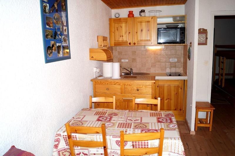 Holiday in mountain resort Studio sleeping corner 4 people (3) - Résidence l'Eperon - Les 2 Alpes