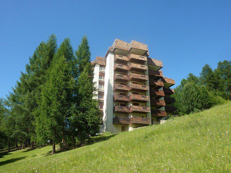 Wynajem na narty Apartament 2 pokojowy z alkową 6 osób (344) - Résidence l'Epervière - Les Orres - Na zewnątrz latem
