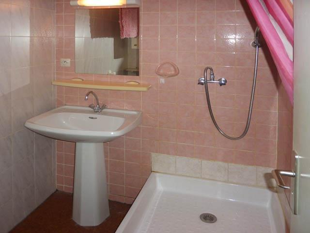 Holiday in mountain resort Studio sleeping corner 4 people (343) - Résidence l'Epervière - Les Orres - Bathroom