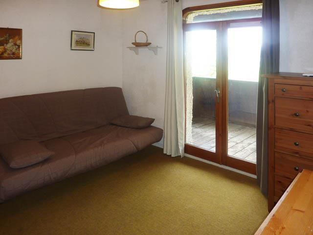 Holiday in mountain resort Studio sleeping corner 4 people (343) - Résidence l'Epervière - Les Orres - Living room