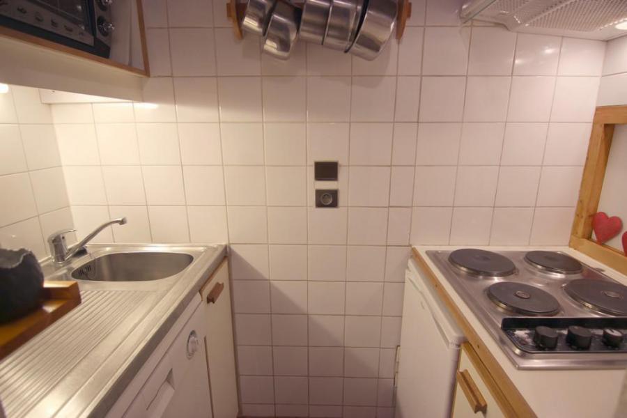 Vacances en montagne Appartement 2 pièces 4 personnes (101) - Résidence l'Eskival - Val Thorens - Cuisine