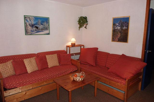 Vacances en montagne Appartement 2 pièces 4 personnes (101) - Résidence l'Eskival - Val Thorens - Séjour