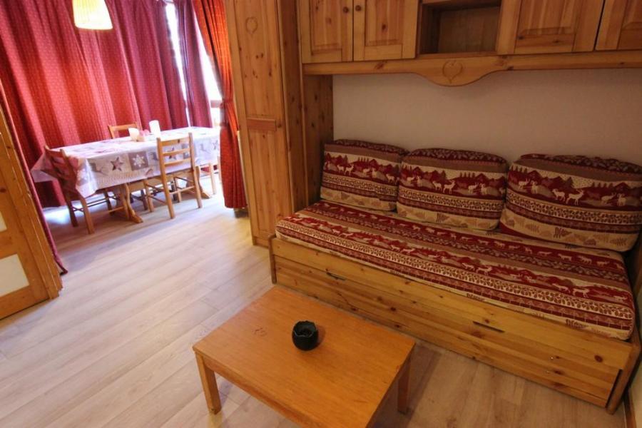 Vacances en montagne Appartement 2 pièces 4 personnes (216) - Résidence l'Eskival - Val Thorens - Canapé