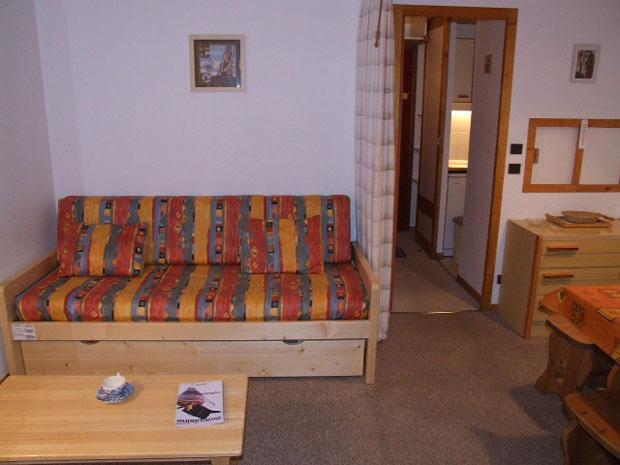 Vacances en montagne Appartement 2 pièces 4 personnes (315) - Résidence l'Eskival - Val Thorens - Séjour
