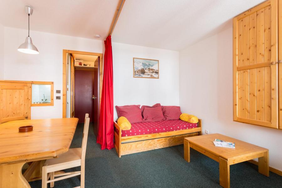 Vacances en montagne Appartement 2 pièces 4 personnes (408) - Résidence l'Eskival - Val Thorens - Séjour