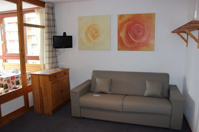 Vacances en montagne Appartement 2 pièces 4 personnes (411) - Résidence l'Eskival - Val Thorens - Logement