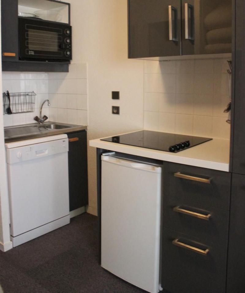 Vacances en montagne Appartement 2 pièces 4 personnes (411) - Résidence l'Eskival - Val Thorens - Cuisine
