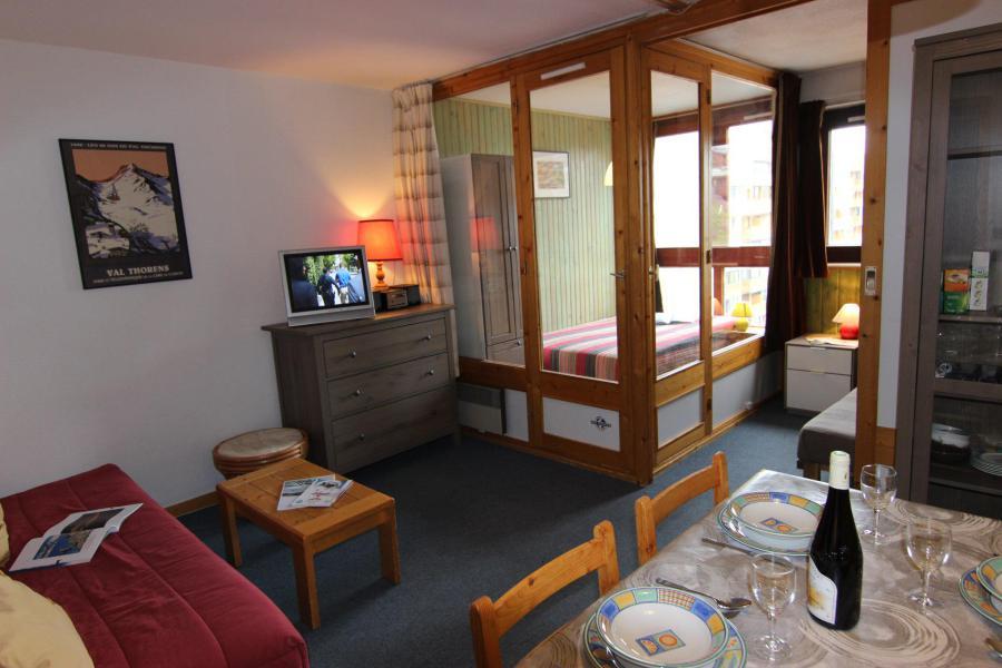 Vacances en montagne Appartement 2 pièces 4 personnes (412) - Résidence l'Eskival - Val Thorens - Séjour